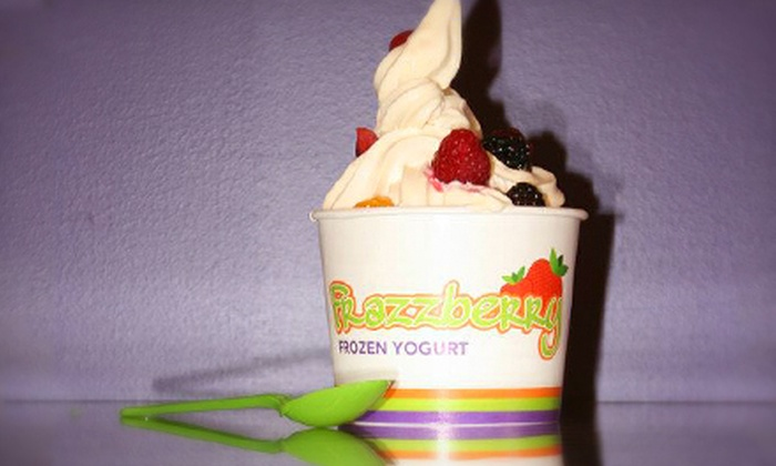 Frazzberry - Pike Creek Valley: $5 for $10 Worth of Frozen Yogurt at Frazzberry