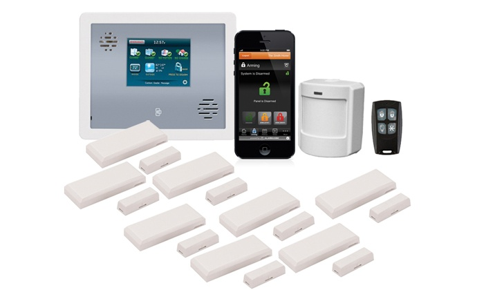 Security One Alarm - Atlanta: Simply or Ultimate Home-Security Package with Motion Detectors from Security One Alarm (Up to 92% Off)
