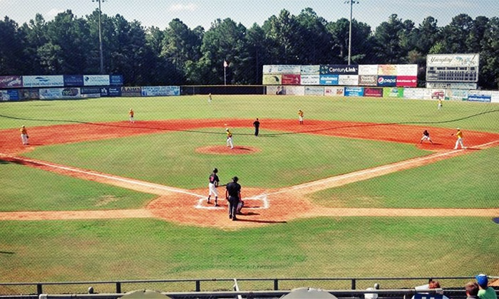 Fayetteville SwampDogs  - J.P. Riddle Stadium: Two or Four Box Seats to Fayetteville SwampDogs Sunday–Thursday Game at J.P. Riddle Stadium (Half Off)