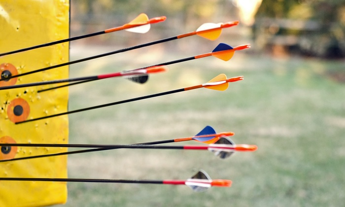 Archery Only - Newark: Introductory Archery Lesson with Equipment and Practice Time for Two or Four at Archery Only (Up to 51% Off)