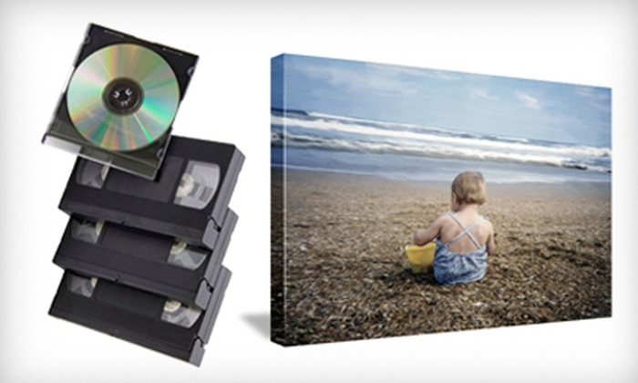 Creative Photo & Digital Imaging - Cypress Lake: Film-to-DVD Conversion or Gallery-Wrap Canvas-Printed Photo at Creative Photo & Digital Imaging (Up to 74% Off)