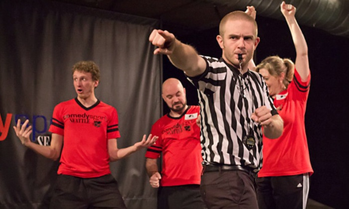 ComedySportz Seattle - Adams: Improv Show for Two or Three at ComedySportz Seattle (Up to Half Off)