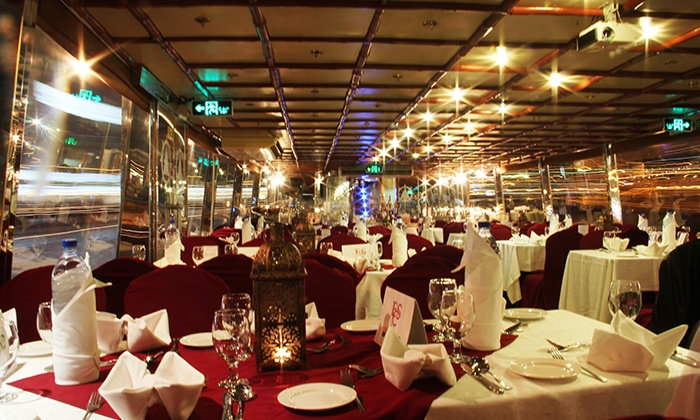 Luxury Dinner Dhow Cruise Al Faris Floating Restaurant