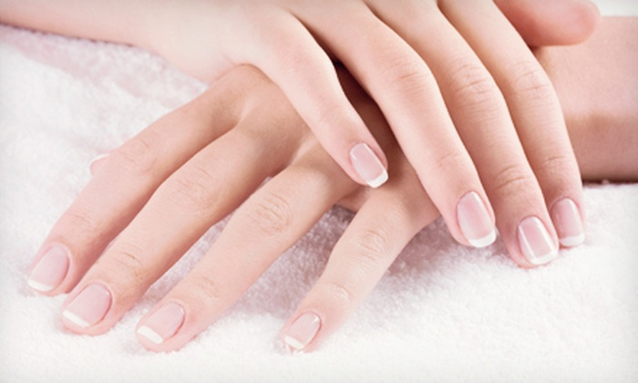 Waterford Nails & Spa - Waterford Lakes: Hot-Stone Pedicure with Optional Shellac Manicure or Two Hot-Stone Pedicures at Waterford Nails & Spa (Up to 51% Off)