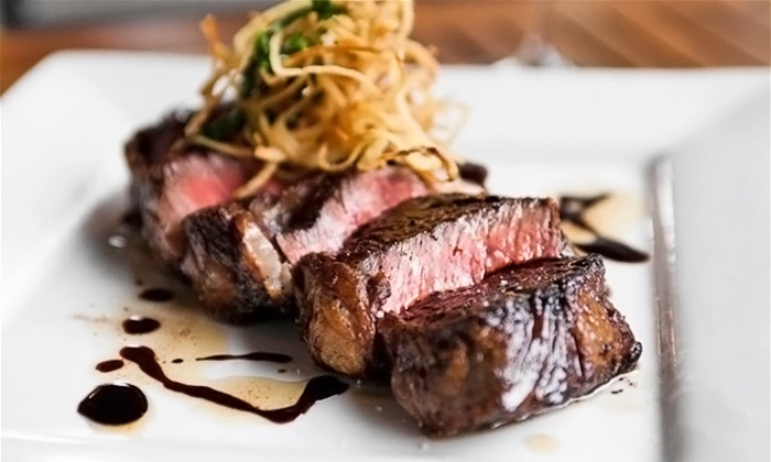 Mill Creek Tavern - Bayville: Steak and Seafood for Dinner at Mill Creek Tavern (Up to 50% Off). Two Options Available.