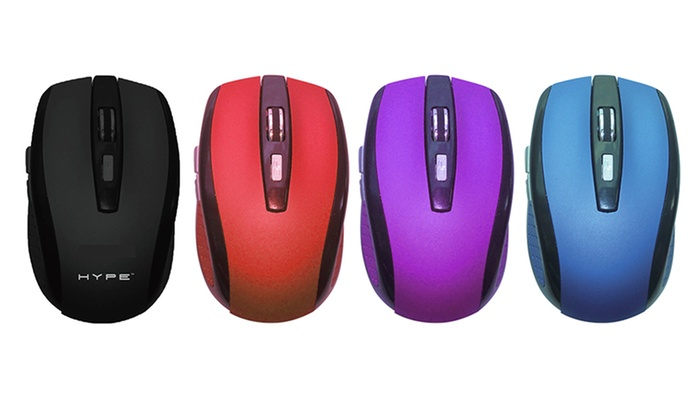 Hype 2.4Ghz Wireless Optical Mouse: Hype 2.4Ghz Wireless Optical Mouse
