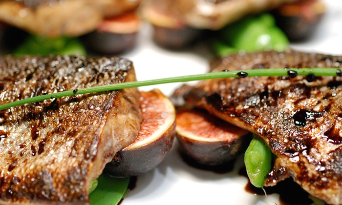 Fig & Olive - Westchester/Scarsdale: Upscale Mediterranean Dinner with Dessert and Drinks for Two or Four at Fig & Olive (Up to 51% Off)