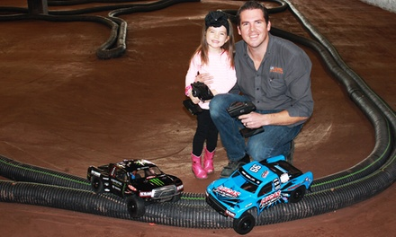 One, Three, or Five Truck Rentals for Indoor Racing at Full Throttle Hobby and Raceway (Up to 59% Off)