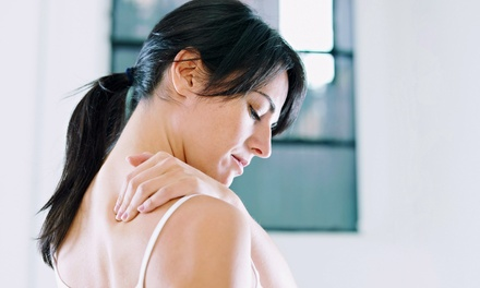 Chiropractic Exam with One or Three Adjustments at Harris Healthcare (Up to 52% Off)