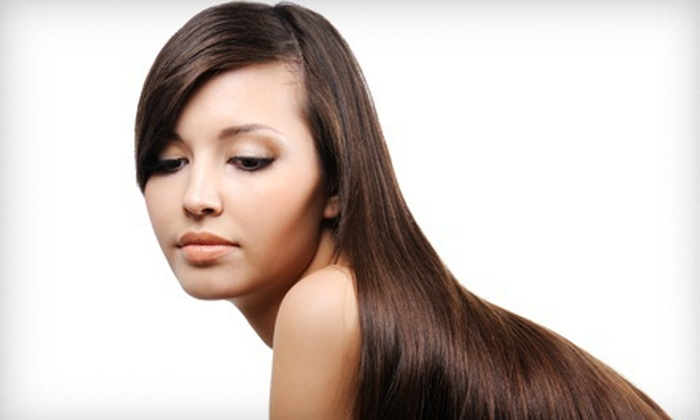 Hairstory - Westover: One or Two Pravana Keratin Straightening Treatments at Hairstory (Up to 58% Off)
