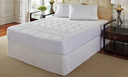 4-Zone Memory Foam Mattress Pad