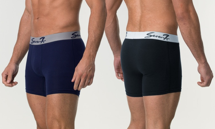 Two-Pack of Seven7 Men's Boxer Briefs: $14 for Two-Pack of Seven7 Men's Boxer Briefs in S–XL ($29.50 List Price). Multiple Colors Available.