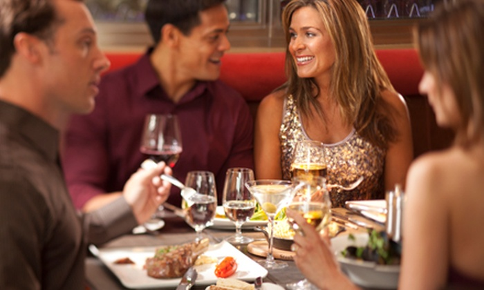 Andrew's Steak and Seafood - Chateau: Steakhouse Cuisine for Two or Four at Andrew's Steak & Seafood (Half Off). Four Options Available.