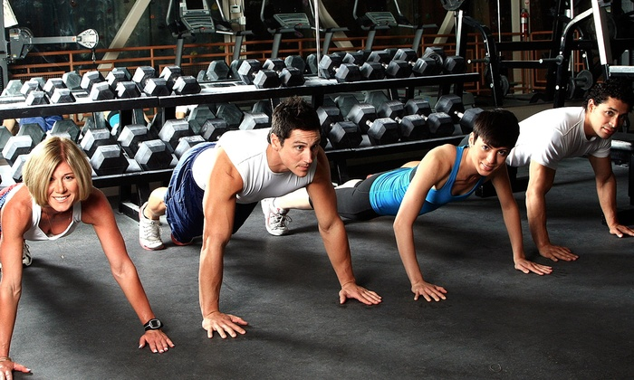 Pure Fitness-STL - Kelly Porter - Maryland Heights: One or Three Months of Unlimited Boot Camp Sessions at Pure Fitness-STL (Up to 74% Off)