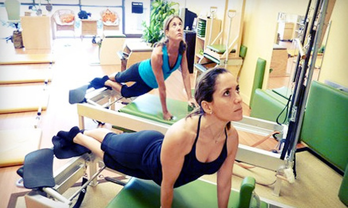 Pilates Space Florida - Boca Raton Hills: 8 or 16 Pilates Apparatus Classes at Pilates Space Florida (Up to 75% Off)