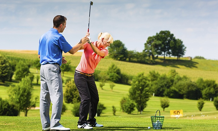 Hilltop Golf Course - Golf Lessons - Plymouth: One or Three 60-Minute Golf Lessons for One or Two People at Hilltop Golf Course (Up to 39% Off)