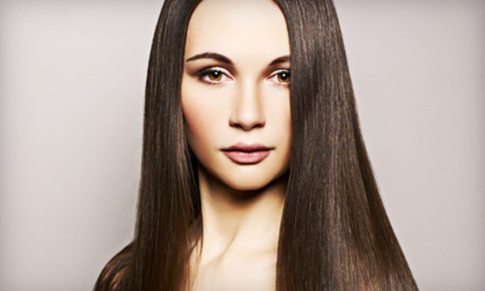 Beautiful...by Susie - Bethlehem: Haircut Package or Brazilian Blowout with Optional Haircut at Beautiful...by Susie in Bethlehem (Up to 53% Off)