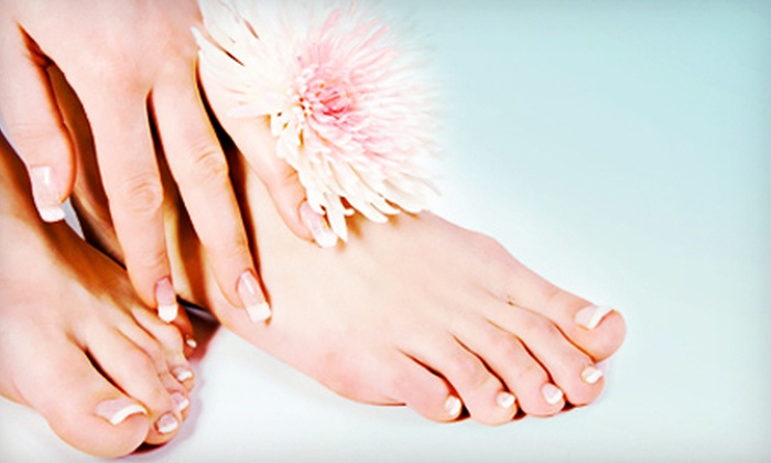 Nu U Medspa and Laser Center - Richfield: Laser Nail-Fungus-Removal Treatment for One or Two Feet at Nu U MedSpa and Laser Center (Up to 71% Off)