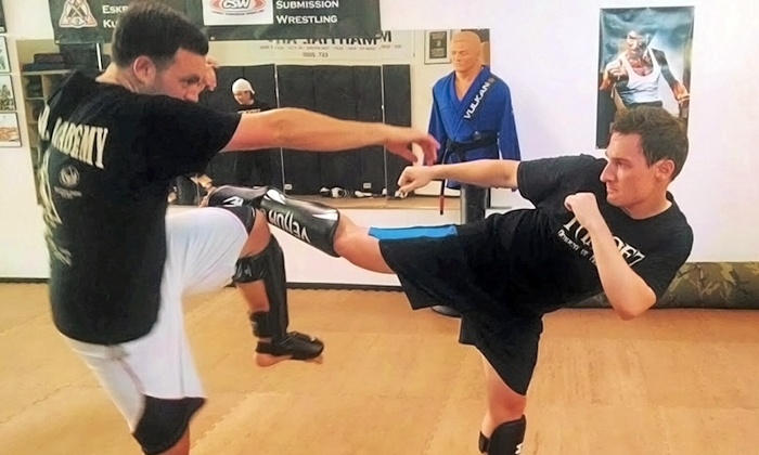 Tandez Academy of Martial Arts - Mountain View: Martial Arts and Fitness Classes at Tandez Academy of Martial Arts (Up to 78% Off). Four Options Available.