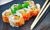 Sushi Fugu - Highland Village: $10 for $20 Worth of Sushi and Asian Fusion Cuisine at Sushi Fugu
