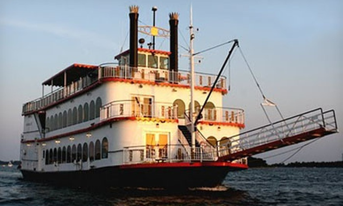 The Island Belle - Bridgeport: Booze Cruise with Complimentary Drinks for Two or Four from The Island Belle in July or August (Half Off)
