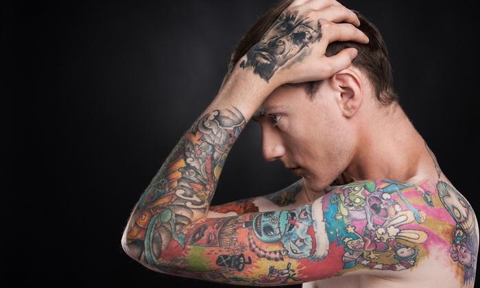 Tatuaż Kolorowy Lub Czarno Biały Galeria Stylu Groupon