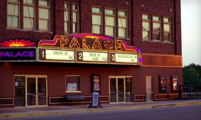 The Waverly Palace Theatre - Waverly: Movie for Two or Four with Popcorn and Drinks at The Waverly Palace Theatre (Up to 54% Off)