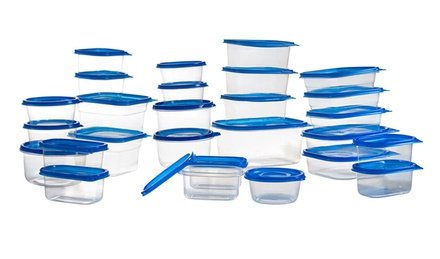 54-Piece Microwavable Food Container Set