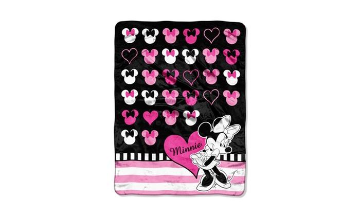 Disney's Minnie Mouse Raschel Throw: Disney's Minnie Mouse Raschel Throw. Free Returns.