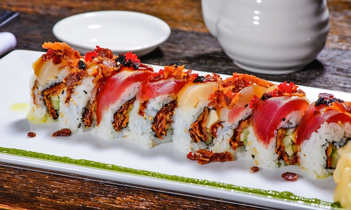 Eight Sushi Asian Kitchen - Fourth Ward: $19 for $30 Worth of Sushi and Pan-Asian Cuisine at Eight Sushi Asian Kitchen