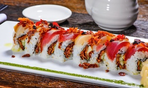 Eight Sushi Asian Kitchen: $16 for $30 Worth of Sushi and Pan-Asian Cuisine at Eight Sushi Asian Kitchen