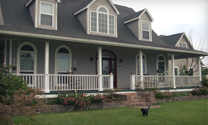 Honey Farm Bed & Breakfast - Katy: $140 for a Two-Night Stay for Two with Breakfast at Honey Farm Bed & Breakfast in Katy (Up to $280 Value)