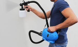 3-Way Professional Electric Paint Sprayer with Adjustable Dial at 3-Way Professional Electric Paint Sprayer with Adjustable Dial, plus 6.0% Cash Back from Ebates.