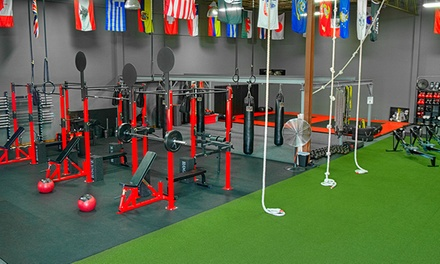 10 Classes or One-Month Membership at G.I. GYM Bootcamp & Cross Training (Up to 61% Off)