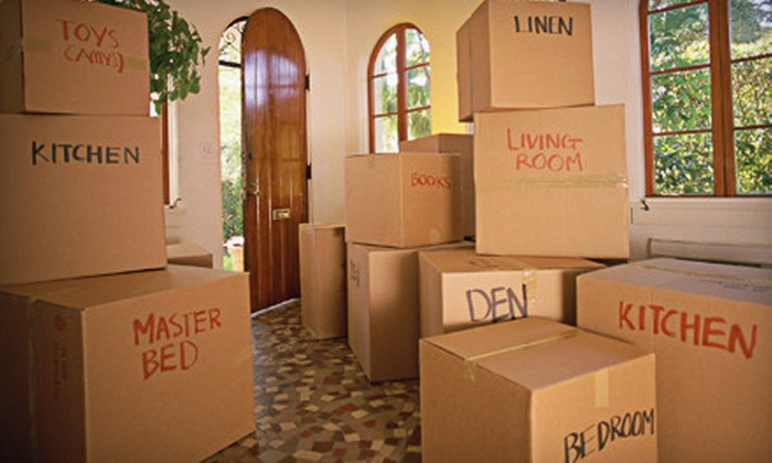 Moving & Storage Services - Palm Beach: $240 for Four Hours of Moving Services with One Truck and Three Movers from Moving & Storage Services ($537.60 Value)
