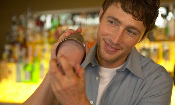 Fine Art Bartending School - Central City: One-Week Bartending Certification Course for One or Two with One-Year Membership at CanadaBarJobs.com (Up to 61% Off)