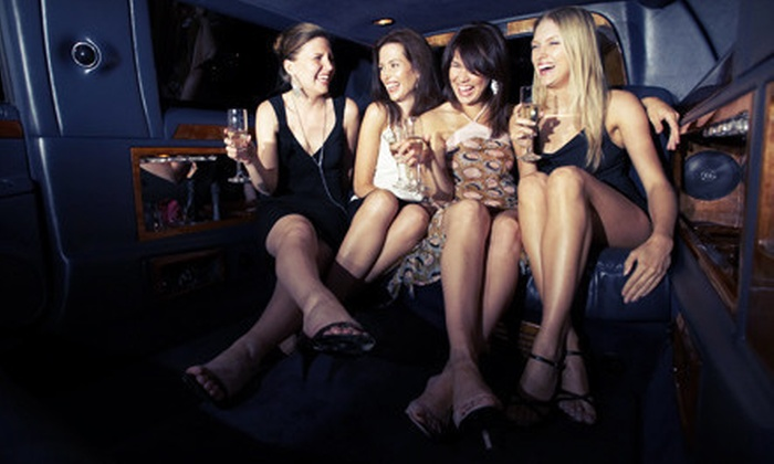 PlyoCity Limousine - Orange County: Limo Service for Up to 20 in a Stretch Hummer from PlyoCity Limousine (Up to 60% Off). Three Options Available.