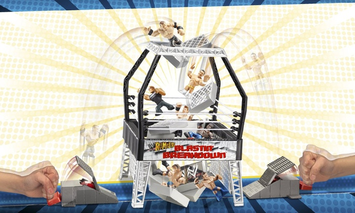 WWE Blastin' Breakdown Playset: WWE Blastin' Breakdown Playset. Free Returns.