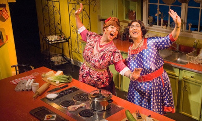 """Cooking with the Calamari Sisters"" - Washington Square West: $25 to See ""Cooking with the Calamari Sisters"" at Society Hill Playhouse (Up to $51 Value). 6 Shows Available."