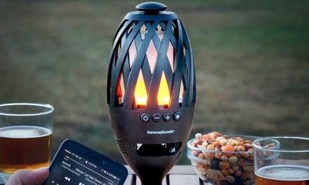 Lámpara de acompañamiento con altavoz Bluetooth