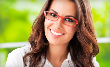 Prescription Glasses, Prescription Sunglasses, or Non-Prescription Sunglasses at Omega Optical (Up to 79% Off)