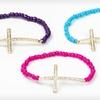 $7.99 for J'adore Bijoux Cross Bead Bracelets
