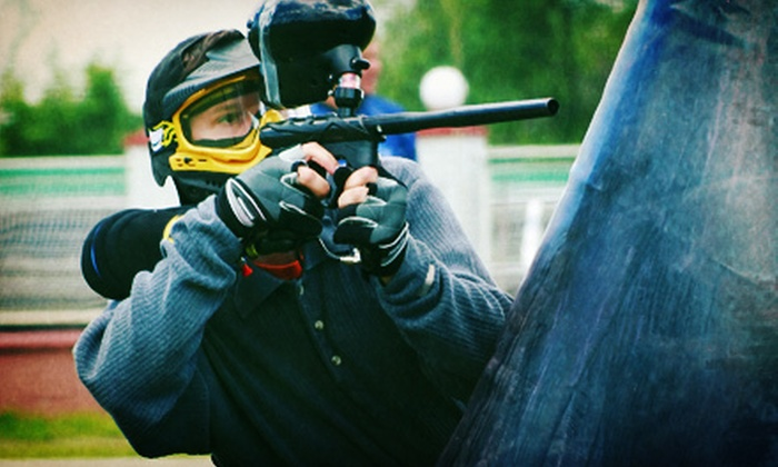 Mighty Sports Center - Mighty Sports Center: Full Day of Paintball with Rental Gear and 500 Paintballs or Laser Tag at Mighty Sports Center (Up to 51% Off)