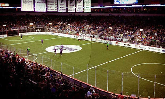 Dallas Sidekicks - Allen: $15 to See Dallas Sidekicks Playoff Soccer Match at Allen Event Center on February 28 at 7:30 p.m. (Up to $32.04 Value)