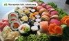 Zestawy sushi: do 54 szt.