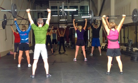 5 or 10 CrossFit Classes with One Fundamentals Session at CrossFit Motivate (Up to 72% Off)