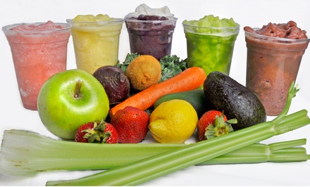 $12 for Three Groupons, Each Good for $7 Worth of Food and Drinks at AeroJuice ($21 Total Value)