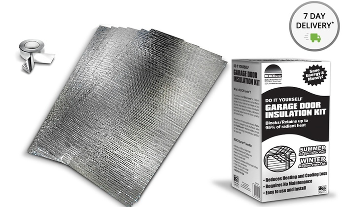 Reach Barrier Garage Door Insulation Kit. Free Returns Deals for only $34 instead of $69