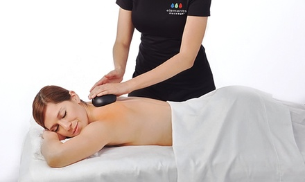 $44 for a 55-Minute Therapeutic Massage at Elements Therapeutic Massage ($89 Value)