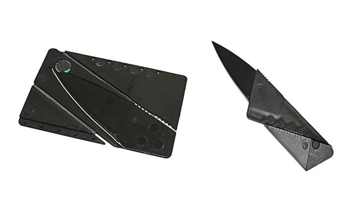 Cardsharp Credit Card Folding Knife (2-Pack)
